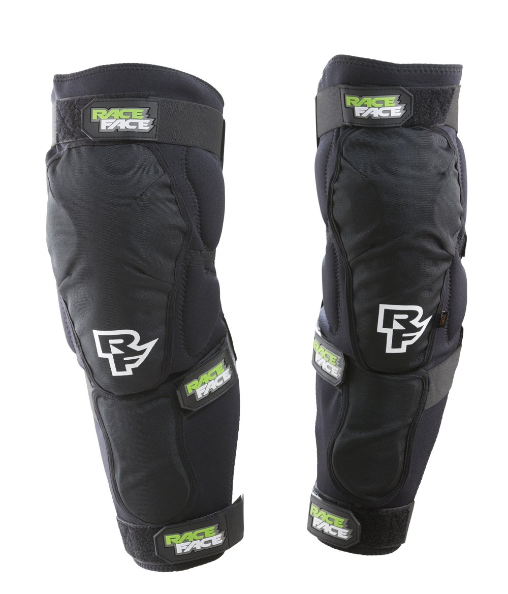 RaceFace Flank Leg Guard, Stealth, X-Large