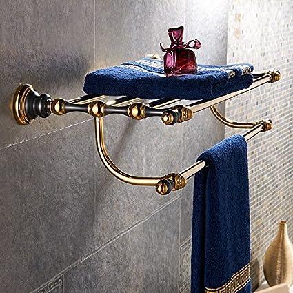 Accesorios de baño Yomiokla - Toalla de metal para cocina, inodoro, balcón y bañoEuro