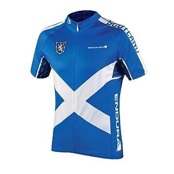 Endura 2016 Men s CoolMax Printed Scotland II Short Sleeve Cycling Jersey -  EP0064 (Scotland Flag - XL)  Amazon.ca  Sports   Outdoors 6894db369