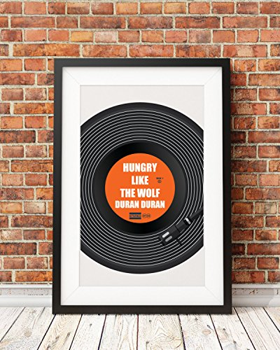Create your own vinyl poster Song Band music poster Quote artVinyl music printtypography printmusic quote printmusic decor vinyl ()