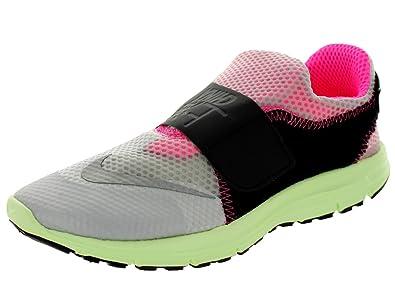finest selection 1a967 26d6c Nike Men s Lunarfly 306 City Qs Pure Platinum RFLCT Slvr Blck Running Shoe  12