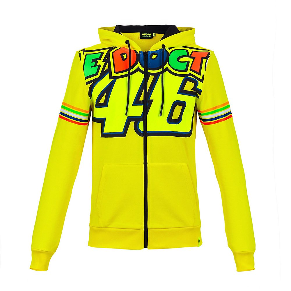 VR46 Felpa Uomo Valentino Rossi The Doctor 46 TG. XL