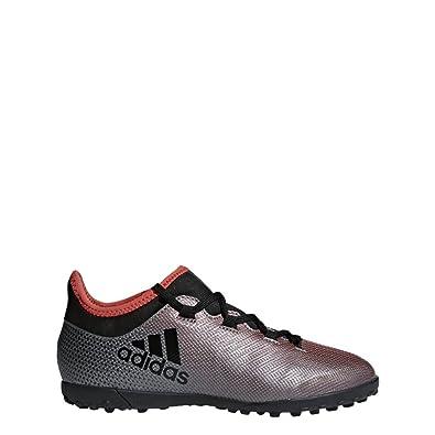 reputable site 95d65 657e0 adidas Boys  X Tango 17.3 Tf J Footbal Shoes, Grey (Grey Cblack