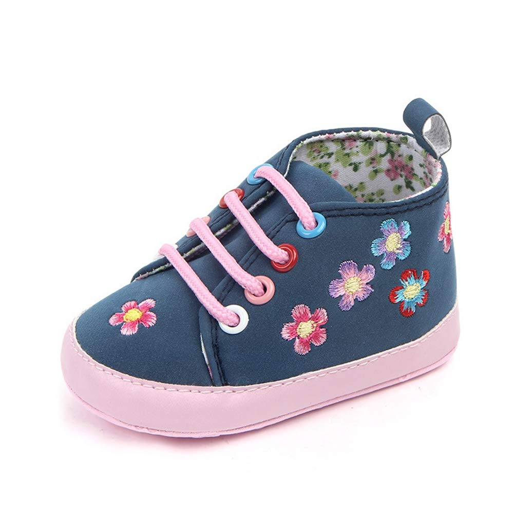Baby Shoes Toddler Shoes Spring Autumn Newborn Flower Soft Bottom Sneakers Infant Girls Casual First Walkers 0-12M
