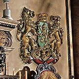 Design Toscano Inc Heraldic Royal Lions Coat of Arms Wall Sculpture