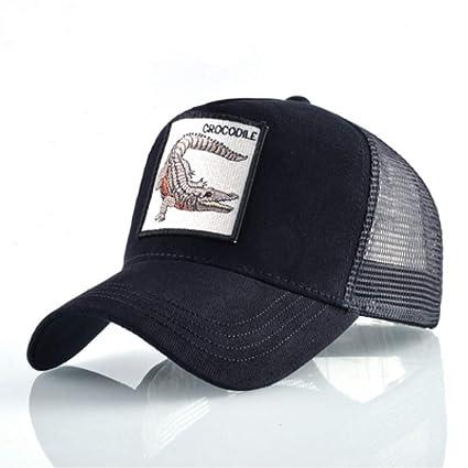 Amazon.com : WYKDA Mesh Baseball Cap Men Fashion Embroidery Trucker Bone Women Streetwear Kpop Hats Unisex Hip Hop Gorras Snapback Casquette : Sports & ...