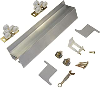 product image for Johnson Hardware 2610F Series 72 in. Track and Hardware Set for Wall-Mount Sliding Doors