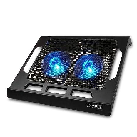 Aingol Radiador de Ventilador Dual portátil Ultra silencioso de 17 Pulgadas, Almohadilla de Soporte del
