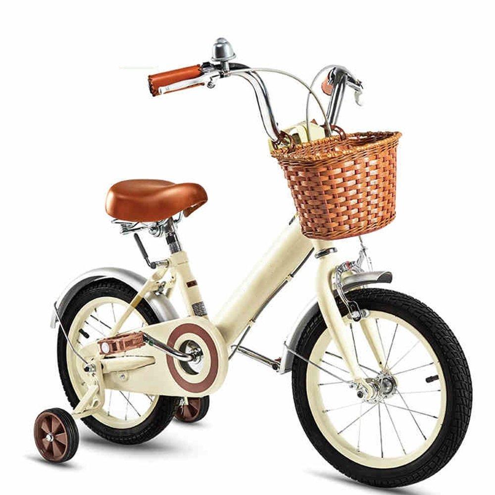 YANGFEI 子ども用自転車 子供の自転車16/14/12/18インチの女の子のサイクリング子供の赤ちゃんのキャリッジ 212歳 B07DWSW8SG 16 inch|A A 16 inch