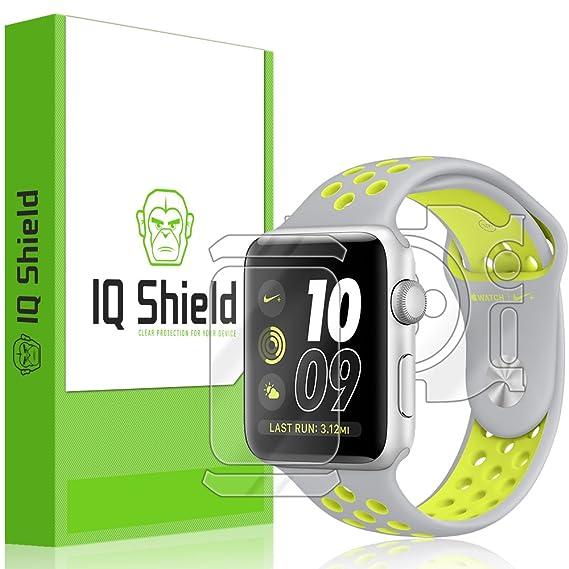 95892e4b8d7c6 Apple Watch Nike+ Screen Protector (42mm), IQ Shield LiQuidSkin Full Body  Skin + Full Coverage Screen Protector for Apple Watch Nike+ HD Clear ...