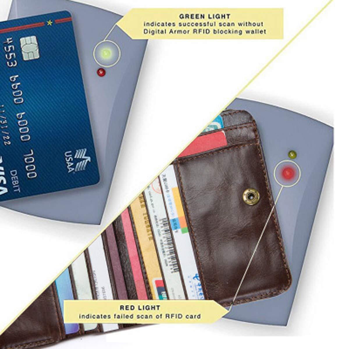 Anti-Diebstahl-B/ürste RFID Echtleder Herren Brieftasche Multifunktions-Doppel-Rei/ßverschluss vertikale Brieftasche Mode l/ässig Geldb/örse Red, 10 /× 2 /× 13cm