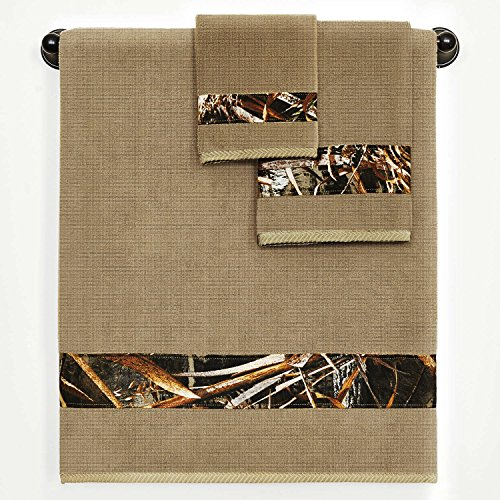 Realtree Max 5 Camo 3 pc. Bath Towel, Hand Towel and Wash Cl