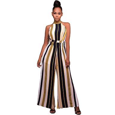 magasin meilleurs vendeurs les ventes en gros 100% authentifié Kolylong 2018 été Femme Combinaison Taille Haute Barboteuses ...