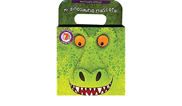 Mi dinosaurio mascota, Maleta para colorear (Carry Along) (Spanish Edition): Parragon Books: 9781445440576: Amazon.com: Books