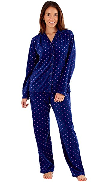 Selena Secrets - Pijama - para mujer Azul azul marino S