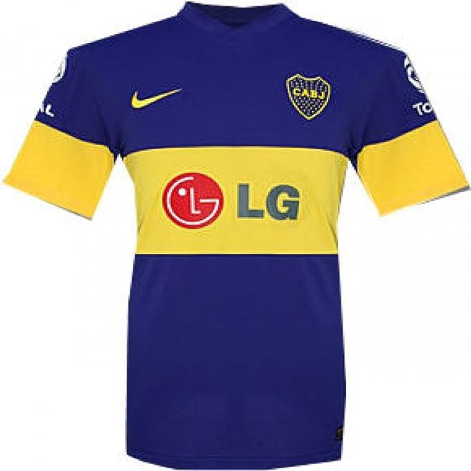 065052b37d7 2011-12 Boca Juniors Nike Home Football Shirt at Amazon Men s ...