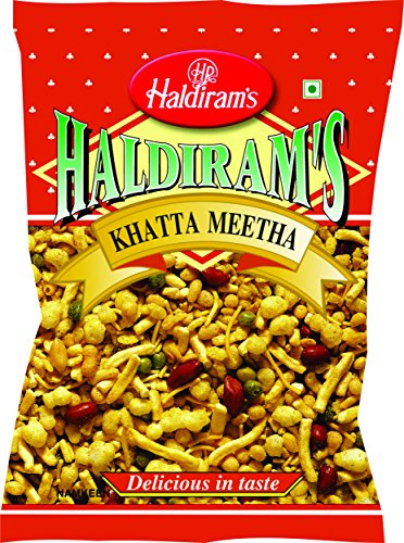 Haldiram Khatta Meetha Sweet and Spicy Snack Mix, 7 Ounce