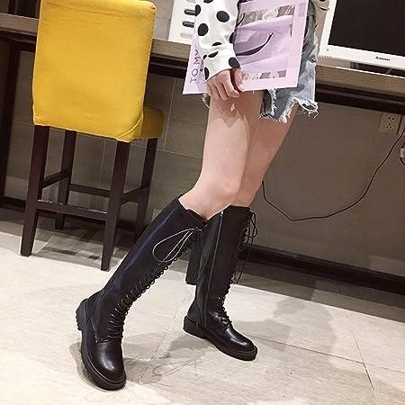 SKTWOE Stivali da Moto, Chiusura Lampo del Lato della Croce