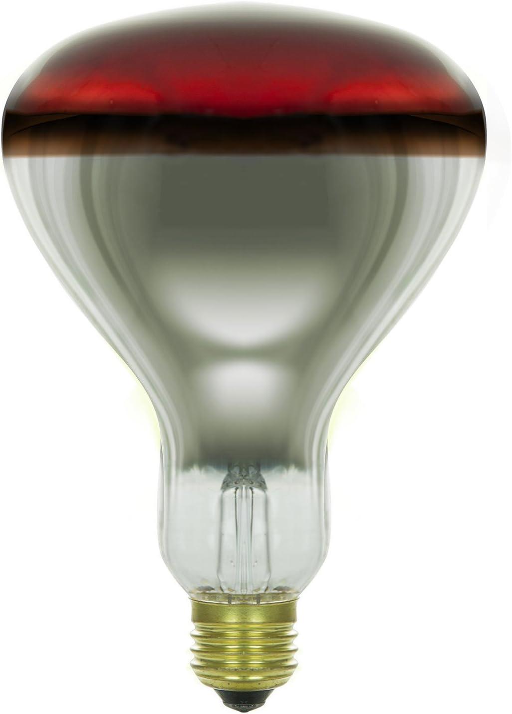 Sunlite 250 Watt Heat Lamp Infrared R40 130 Volt Tuff Skin