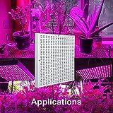 Osunby LED Grow Light 45W UV IR Growing Lamp for