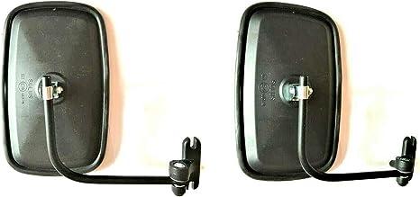 2x Au/ßenspiegel Seitenspiegel 230x140 /ø10 LKW Bagger m Spiegelhalter Spiegelarm