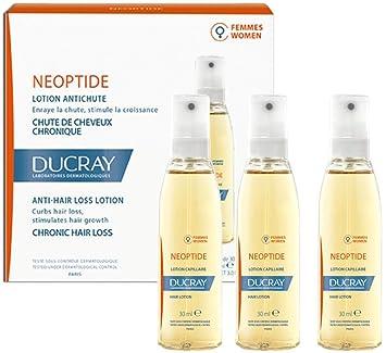 Ducray Neoptide Loción Anticaida Crónica Para Mujeres - 3 Frascos x 30 ml - Total: 90 ml