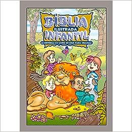 Bíblia ilustrada infantil - Impressa prata
