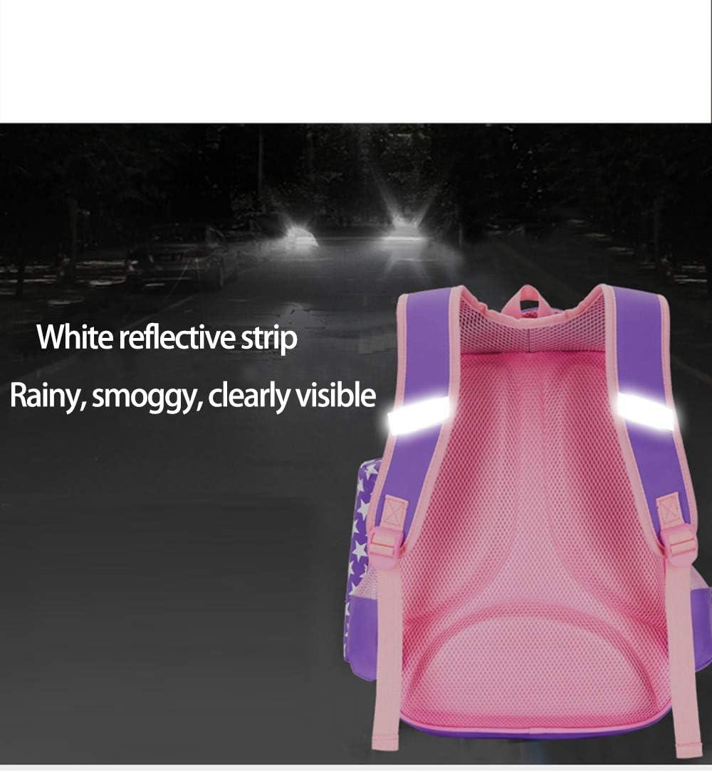 Boys Girls Trolley Bag Schoolbag Waterproof Nylon Rolling Backpack Zhhlinyuan