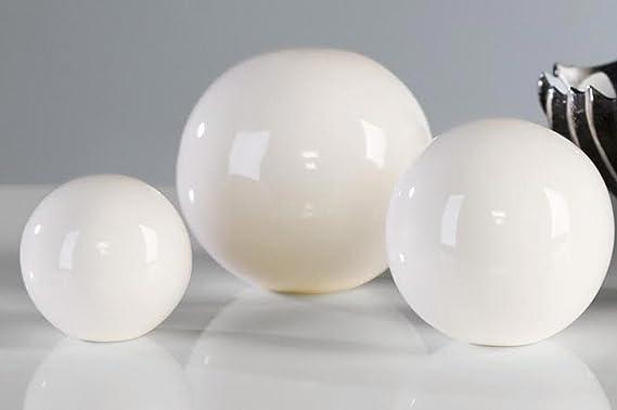Casablanca – Bola Decorativa White Ball Blanco 3erset: Amazon.es: Hogar