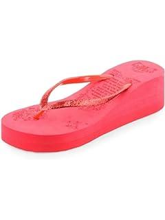 1b6d351d7 DARLING DEALS Fashionable Women s Flip Flops Silver Sleepers  Buy ...