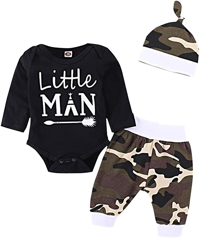 Fulltime TM 0-18 Months Newborn Baby Girl Boy Clothes Deer Tops T-Shirt Pants Leggings with Hat Outfits Sets