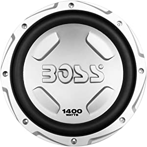 BOSS Audio Systems CX122 1400 Watt Car Subwoofer, 12 Inch, Single 4 Ohm Voice Coil, 12 inch subwoofer Box Ready