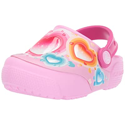 Crocs Kids' Boys and Girls Heart Light Up Clog | Mules & Clogs