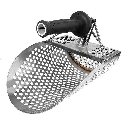 Diawp Beach Sand Scoop Shovel Hunting Tool Accesorios de Acero Inoxidable para Detector de Metales