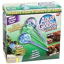 Watering Globes 3pc Mini Glass Watering Spheres Set