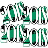 Green Grad 2018 - Best is Yet to Come - 2018 Decorations DIY Green Graduation Party Essentials - Set of 20