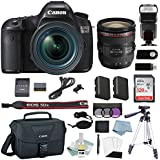 Canon EOS 5Ds DSLR Camera Kit With EF 24-70mm f/2.8L II USM Lens + Professional Accessory Bundle - Including EVERYTHING You Need To Go Pro