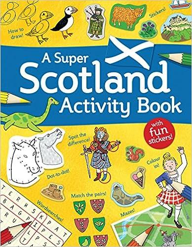 Descargar U Torrent A Super Scotland Activity Book: Games, Puzzles, Drawing, Stickers And More PDF PDF Online