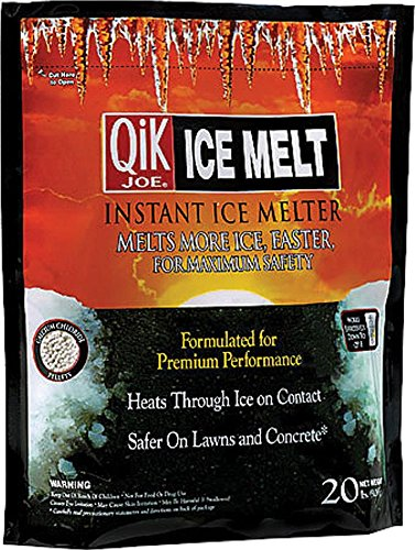 Milazzo Industries 765784 Qik Joe Ice Melt Pellets, 20-Pound [並行輸入品] B001WBRTX2