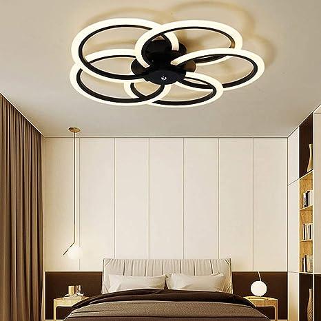 Joey Luces de techo LED modernas para sala de estar ...