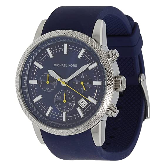 Michael Kors MK8240 - Reloj de Pulsera para Hombre, Azul: Amazon.es: Relojes