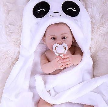 Amazon.es: SYP Lifelike Entero Silicona Reborn muñecas Bebé ...
