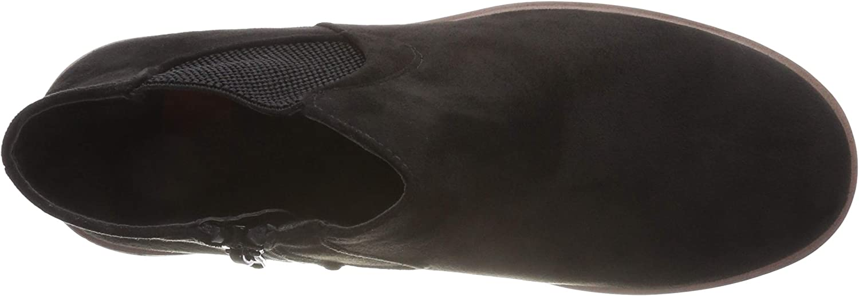 Rieker 99182, Botas Chelsea para Mujer Negro Black 00 ErGsx