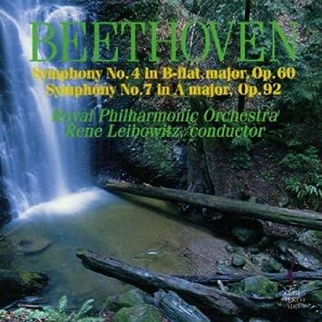 Sinfonien 4 und 7 - Leibowitz, Rene, Beethoven, Ludwig Van: Amazon.de: Musik