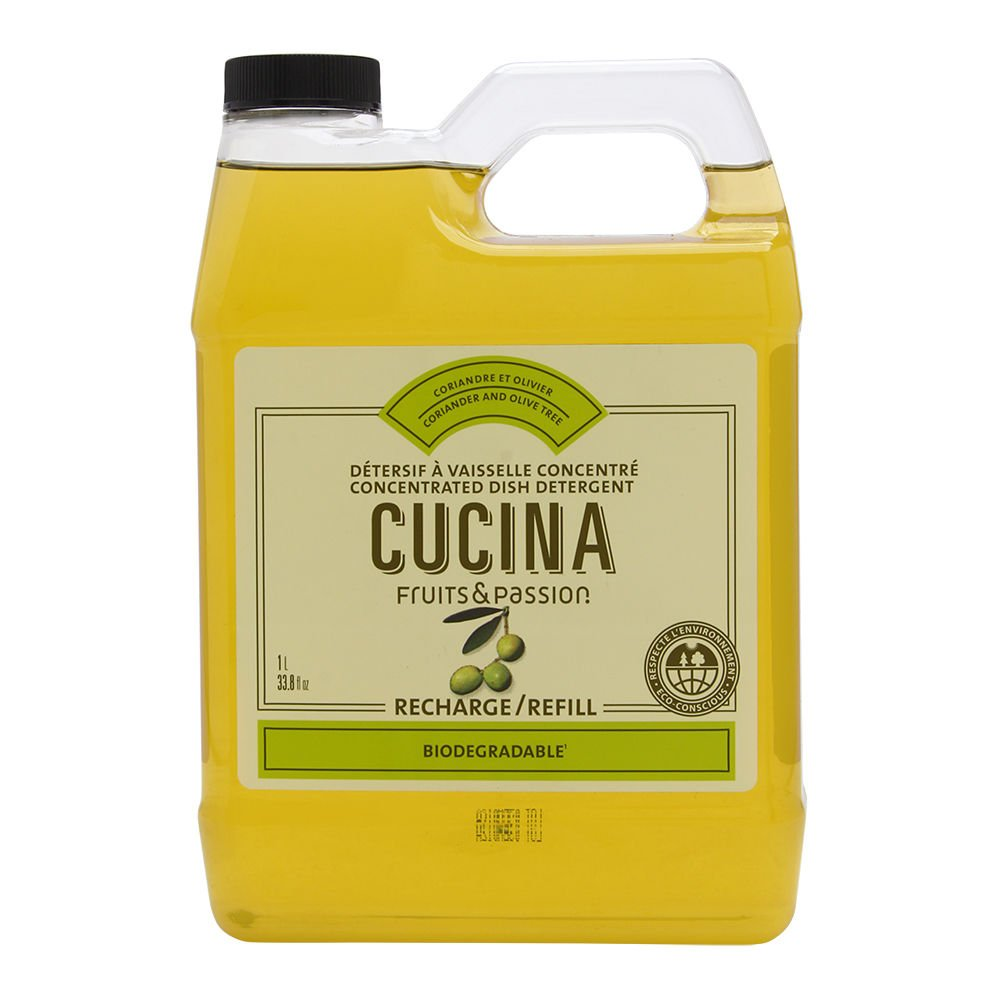 Coriander and Olive Oil Dish Soap (Refill) Cucina 20670510020