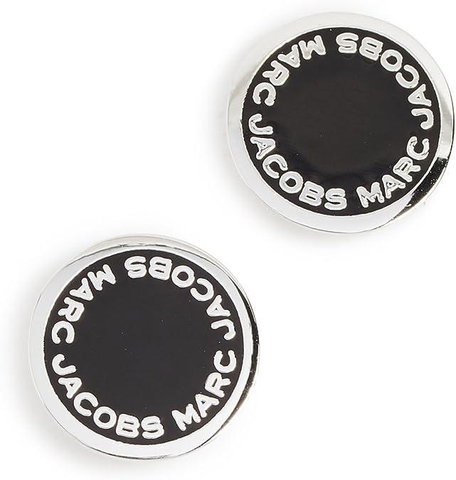 logo disc studs marc jacobs