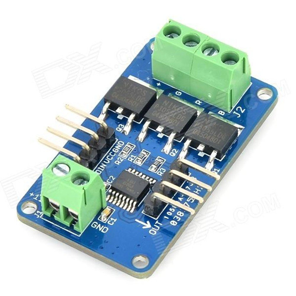 Next Led Strip Driver Module For Arduino Deep Blue Ard0689 Amazon Rgb Circuit With Use Projects Tools Home Improvement