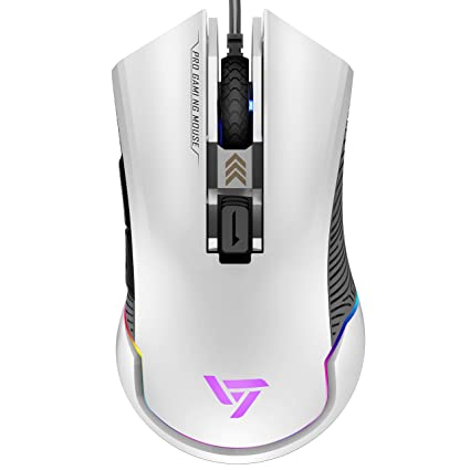 48d20f87203 VicTsing Pro RGB Gaming Mouse Wired, 16.8 Milllion Chroma RGB Color,7250  DPI Optical