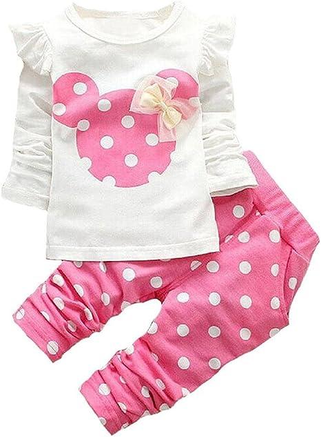 Simple Joys by Carters Juego de 4 piezas de camisas y pantalones de manga larga Conjunto para beb/é ni/ña
