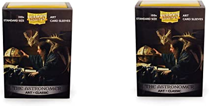 "100ct Dragon Shields /""THE ASTRONOMER/"" Art Standard Card Sleeves"